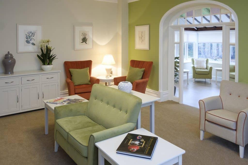 Great Horkesley Manor lounge