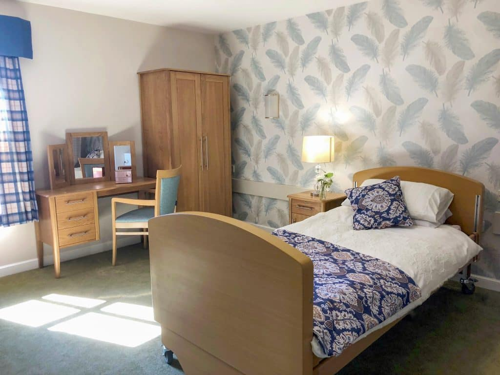 Cranford Care Centre Bedroom