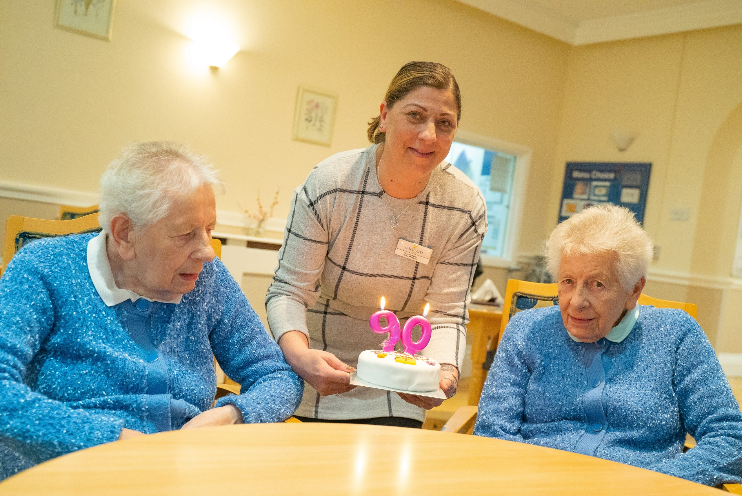 TWINS AT THIRSK CARE HOME STILL CELEBRATING AFTER 90 YEARS