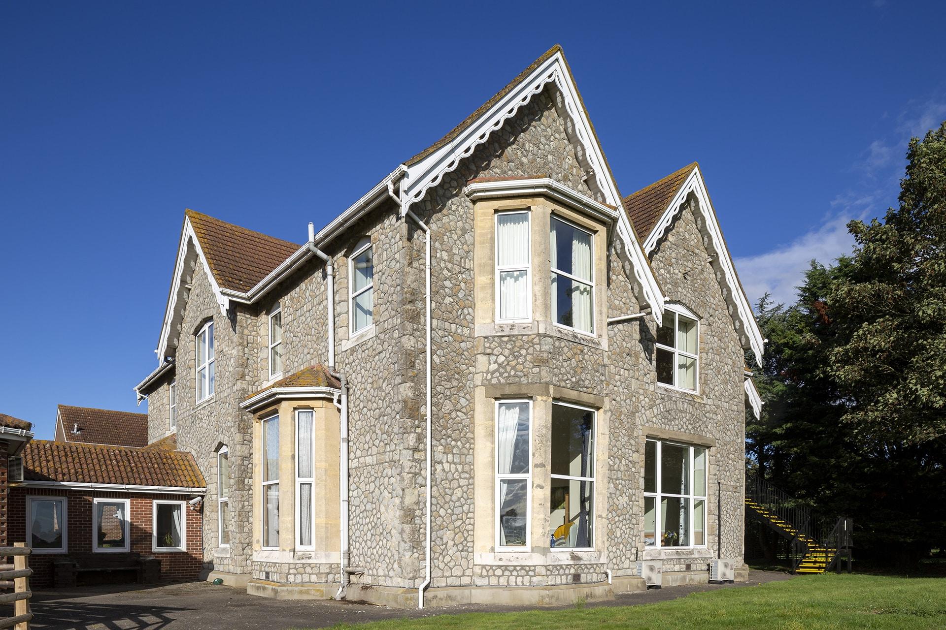 Stambridge Meadows Care Home rear elevation