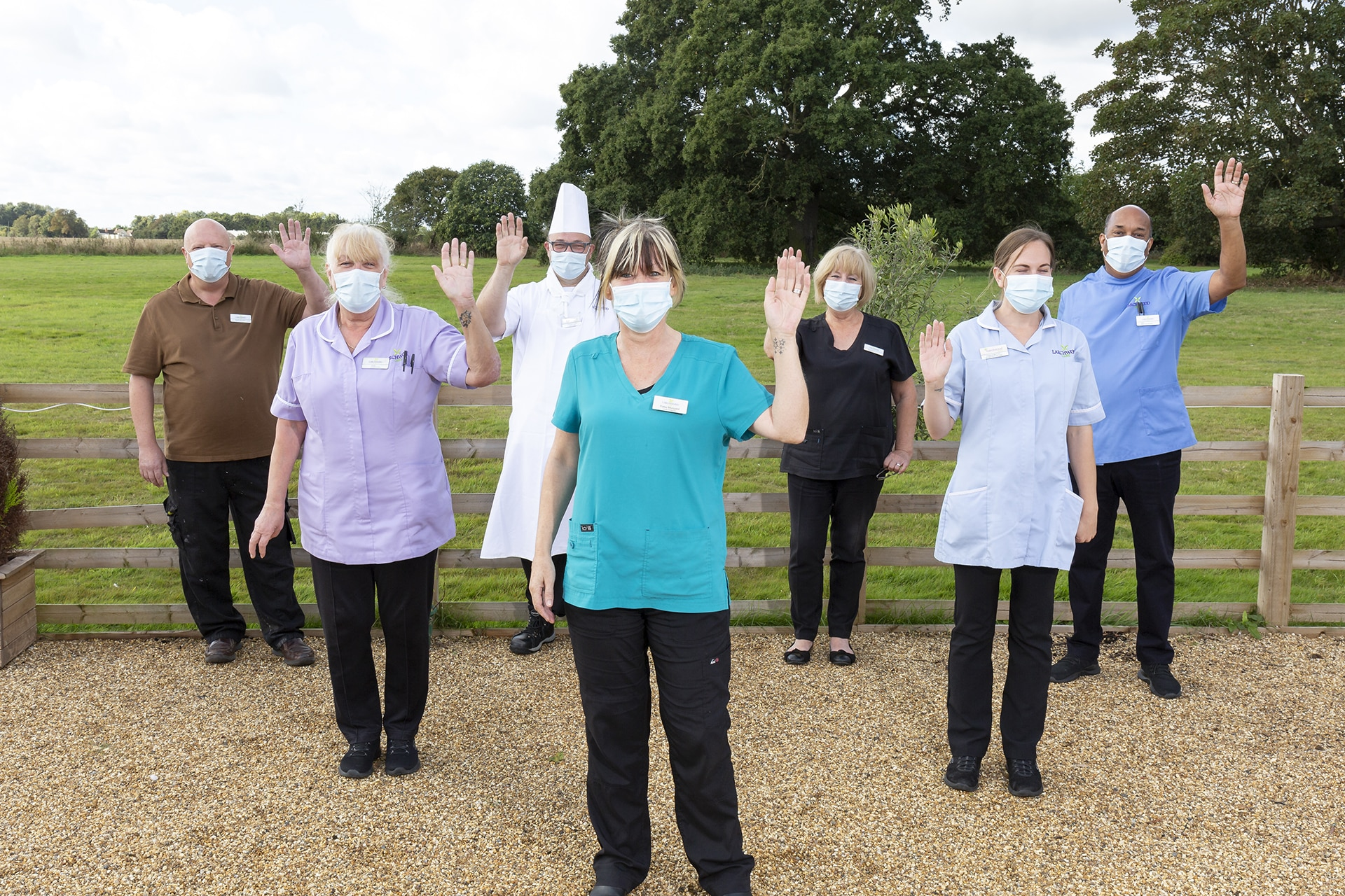 Stambridge Meadows Care Home team